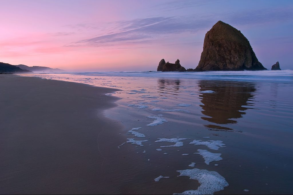 Haystack Bubbles Oregon Coast