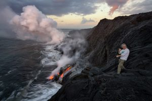 gary randall, lava, magma, hawaii