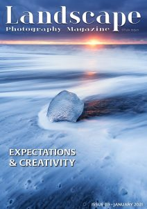 Landscape Photography magazine cover
