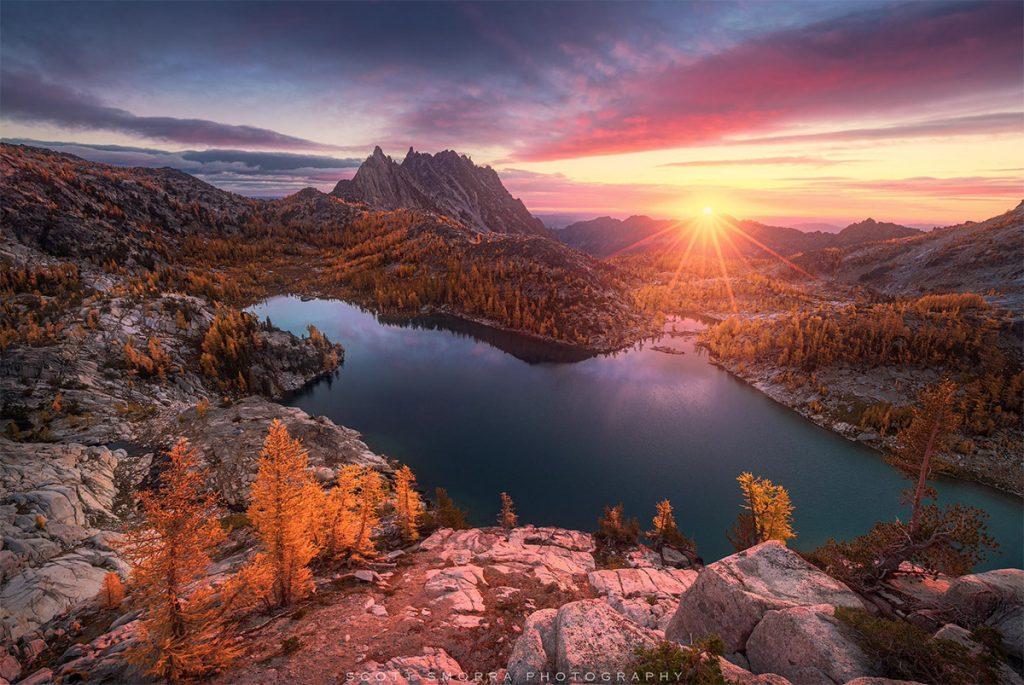 sunset photograph by Scott Smorra