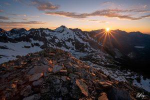 Matt Payne image of mountain sunset